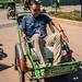 2019 - Cambodia-Avalon-Phnom Penh - 22 - Cyclo Unloading at the Port