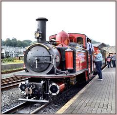 DLG (R~P~M) Tags: train railway steam locomotive fairlie narrowgauge porthmadog gwynedd wales cymru uk unitedkingdom greatbritain