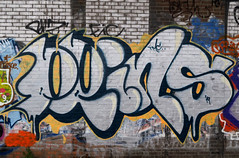 Graffiti in Amsterdam (wojofoto) Tags: amsterdam nederland netherland holland graffiti streetart wojofoto wolfgangjosten 2020 prins throw throwup throwups throws