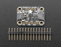 Adafruit LSM6DS33 + LIS3MDL - 9 DoF IMU with Accel / Gyro / Mag - STEMMA QT Qwiic (adafruit) Tags: 4485 boards kits stemma qwiic stemmaqwiic lsm6ds33lis3mdl gyro adafruit addons accessories electronics programming products