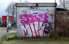 Graffiti in Amsterdam (wojofoto) Tags: amsterdam nederland netherland holland graffiti streetart wojofoto wolfgangjosten 2020 shy mir throw throwup throwups throws