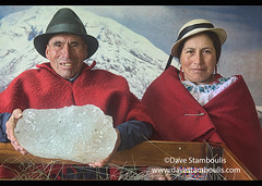 "Baltazar Ushca, the last ""iceman"" of Chimborazo, and daughter, Urbina, Ecuador (jitenshaman) Tags: travel worldtravel destination destinations southamerica latinamerica ecuador andes baltazarushca baltasarushca iceman hielero ice chimboraza native ethnicminority ethnicminorities highlander andean quechua indigenous indigena traditions traditional customs culture cultural dress baltazarushcatenesaca icemerchant poncho hat rural ecuadorian indigenousculture indigenouscultures portrait urbina riobamba fatheranddaughter family families love chimborazo"