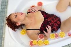 Pleasure (piotr_szymanek) Tags: malgosia malgosiat woman milf studio portrait face bathroom bath milk milkbath bathtube 1k 5k 10k 20f