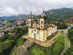 Igreja São Francisco de Paula (1898)- Ouro Preto - Brazil (Airton Morassi) Tags: anafi parrot aerial drone dron