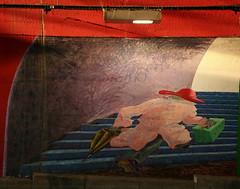 Escape (Wolfgang Bazer) Tags: escape flucht pferseer unterführung underpass augsburg street art streetart graffito graffiti hauptbahnhof main railway station schwaben swabia bayern bavaria deutschland germany