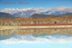 Embalse de Mediano (F de Toro) Tags: ainsa aragon españa huesca lagos lakes landscape montaña mountain paisajes peñamontañesa pirineo reflejos sobrarbe spain