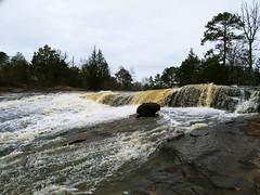 The Waterfalls at Flat Rock (Thomas Vasas Photography) Tags: landscapes waterfalls scenic water creeks rocks flatrockpark columbus georgia