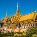 2019 - Cambodia-Avalon-Phnom Penh - 12 - The Royal Palace Throne Hall