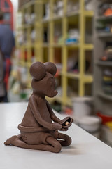 Todays Mouse (Mika Lehtinen) Tags: clay ceramics handmade mouse sculpture sculpting stoneware mika lehtinen