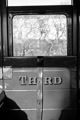 Third Class (Gerry Balding) Tags: wales narrowgauge railway carriage door compartment thirdclass valeofrhiedolrailway