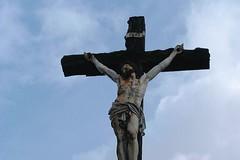 lechristdestefoixdelongastpz (thierrypotier7) Tags: eglises patrimoine vitrail clochers dordogne aquitaine marie jesus potier thierry