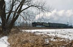 Wolsztyn PKP  |  1996 (keithwilde152) Tags: pm36 pm362 wolsztyn wielkopolska pkp poland 1996 landscape town railway tracks signal passenger train steam locomotives outdoor winter snow