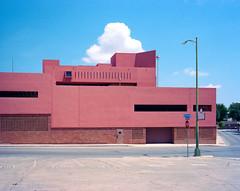 San Antonio Central Library (Carsten Goebell) Tags: portra400 plaubelmakina67 sanantonio mittelformat 6x7 texas 2016 analog epsonv800
