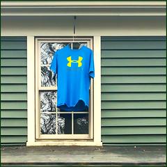 an airing out... (Timothy Valentine) Tags: wednesday window 0120 2020 tshirt home eastbridgewater massachusetts unitedstatesofamerica iphone3651