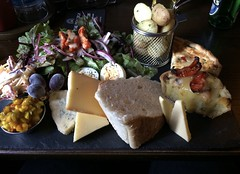 This is how beautiful food can be. Ploughman's lunch in Bakewell. (anne makaske) Tags: thepeacock bakewell ploughman'slunch