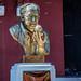 2019 - Cambodia-Avalon-Phnom Penh - 21 - Dr. Beat Richner Sculpture Cambodia National Museum