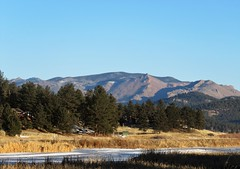 Winter in South Park (Patricia Henschen) Tags: lakegeorge colorado southplatteriver lake river mountains pikenationalforest landscape mountain backroad southpark parkcounty winter wetland pike nationalforest rural snow