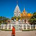 2019 - Cambodia-Avalon-Phnom Penh - 17 - Royal Palace Princess Kantha Bopha Stupa
