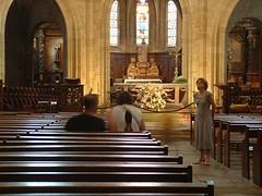 DSCF0547 (thierrypotier7) Tags: eglises patrimoine vitrail clochers dordogne aquitaine marie jesus potier thierry
