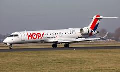 F-GRZN - Bombardier CRJ-701 - AMS (Seán Noel O'Connell) Tags: airfrancehop fgrzn bombardier crj701 crj7 amsterdamairportschiphol 18r ams eham rns lfrn af1030 afr103r aviation avgeek aviationphotography planespotting