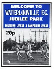 Waterlooville v Thanet United (Havant & Waterlooville) Tags: havant waterlooville thanet united margate southern league football programme