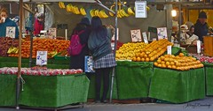 Fresh Fruit 630a-1 (Anthony D Barraclough) Tags: cambridge market greengrocers fruit people