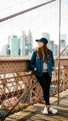 Love, in Brooklyn Bridge (AndresAlberto) Tags: brooklyn new york newyork portrait canon travel