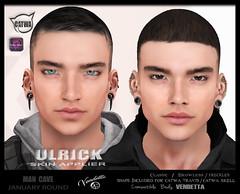 [VENDETTA] ULRICK Skin @t  MANCAVE (Alex R. Cameron) Tags: vendetta man cave skin catwa lelutka omega