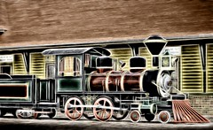 Do The Locomotion With Me (clarkcg photography) Tags: locomotion train steam allaboard flickrfriday