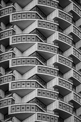 One Park Drive 3 (benjaminjohnson1983) Tags: 2019 blackwhite canarywharf dynamic flickr herzogdemeuron london londonvisit2019dec oneparkdrive repetition shadow shapes skyscraper windows woodwharf cylindrical theisleofdogs