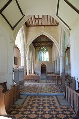 Photo of Boughton Aluph, All Saints' church interior