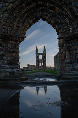 St Andrews Cathedral (Dode Allen) Tags: st andrews cathedral ruins scotland fife rubble clouds long exposure