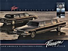 1991 Cadillac Limousines (aldenjewell) Tags: 1991 cadillac brougham deville limousine brochure