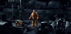 Tintin (knutvegardlorentzen) Tags: tintin toy photography space dog snowy cinema herge