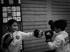 7784 - Hook (Diego Rosato) Tags: hook gancio pugno punch little boxer piccolo pugile boxe boxing pugilato boxelatina allenamento training fuji x30 rawtherapee bianconero blackwhite