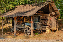 Cox Corn Crib (Back Road Photography (Kevin W. Jerrell)) Tags: museumofappalachia daysgoneby logbuildings backroadphotography historic nikond7200 sigmalens wagons andersoncounty clinton tennessee