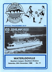 Dover Athletic v Waterlooville (Havant & Waterlooville) Tags: havant waterlooville dover athletic southern league football programme