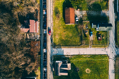 Tops Down (benpsut) Tags: 591 dji djimavic2pro drone flying mavic mavic2pro ns ns591 nsmonline norfolksouthern train aerial aerialphotography dronephotography flight fly lookingdown photo photography railroad topdown trains