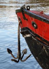 Anchor (Treflyn) Tags: barge boat anchor river thames near reading berkshire