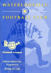 Waterlooville v Weymouth (Havant & Waterlooville) Tags: havant waterlooville weymouth southern league football programme