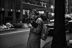 D04_2556 (drkotaku) Tags: newyorkcity manhattan photography streetphotography nikon nikond4 nikonafsnikkor2470f28ged bw blackandwhite blackandwhitephotography