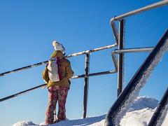A tourist (n_kot) Tags: karpacz landscape krajobraz trekking winter wycieczka zima śnieżka śnieg