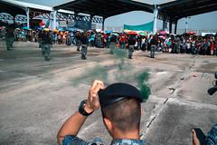 * (Sakulchai Sikitikul) Tags: street snap streetphotography summicron songkhla sony a7s 35mm leica smoke thailand hatyai military soldier flash