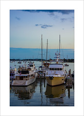 Marina (prendergasttony) Tags: sea sky marine border boats mast nikon d7200 tony prendergast elements florida usa america atmosphere storm docks clouds water blue white st augustines