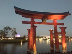 Sunset in Japan of Epcot #Epcot #Disney #Sunset (jneydson) Tags: sunset disney epcot