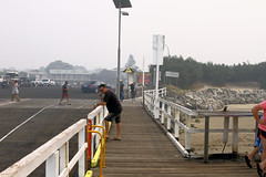 Inverloch (Dennisbon) Tags: dennisbon canon eos 7d melbourne australia inverloch beach holiday tourists smoke bushfire