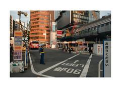 渋谷区 Shibuya Construction (Melissen-Ghost) Tags: 渋谷区 shibuya construction tokyo japan streets topographics urban color fujifilm