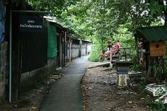 my photo walk path (the foreign photographer - ฝรั่งถ่) Tags: path photo walk khlong thanon bangkhen bangkok thailand canon