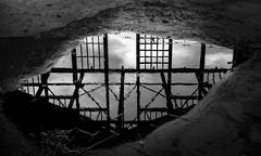 Asbury's Evil Eye (Dalliance with Light (Andy Farmer)) Tags: jersey casino monochrome boardwalk asburypark water bw refelction shore newjersey unitedstatesofamerica