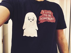 2020 Day 15 : Ready For Bed (Mr. Jackpots) Tags: tshirt ghost
